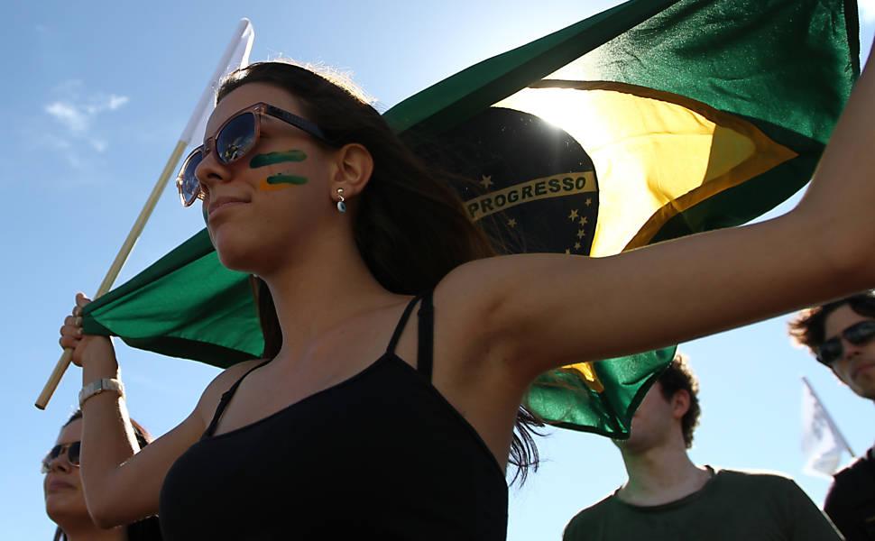 Protesto contra Renan Calheiros em Brasília