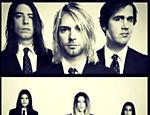 Cleo Pires e irmãs imitam a banda Nirvana
