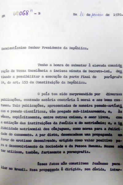 Arquivos da ditadura revelam casos de censura