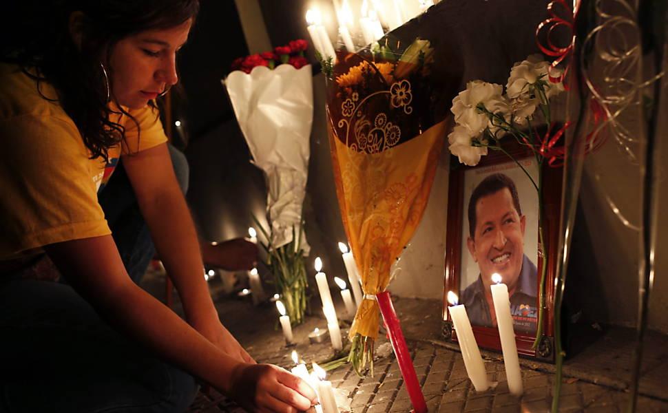 A Morte de Hugo Chávez, em 2013
