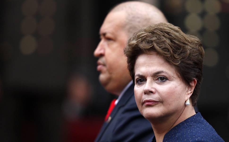Chávez x Lula e Dilma
