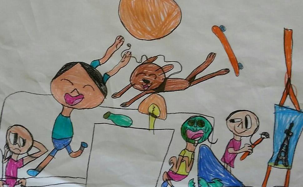 Finalistas do concurso de desenho - até 6 anos