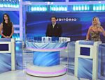 Silvio Santos recebe Eliana, Isabella Fiorentino e Íris Stefanelli em seu programa