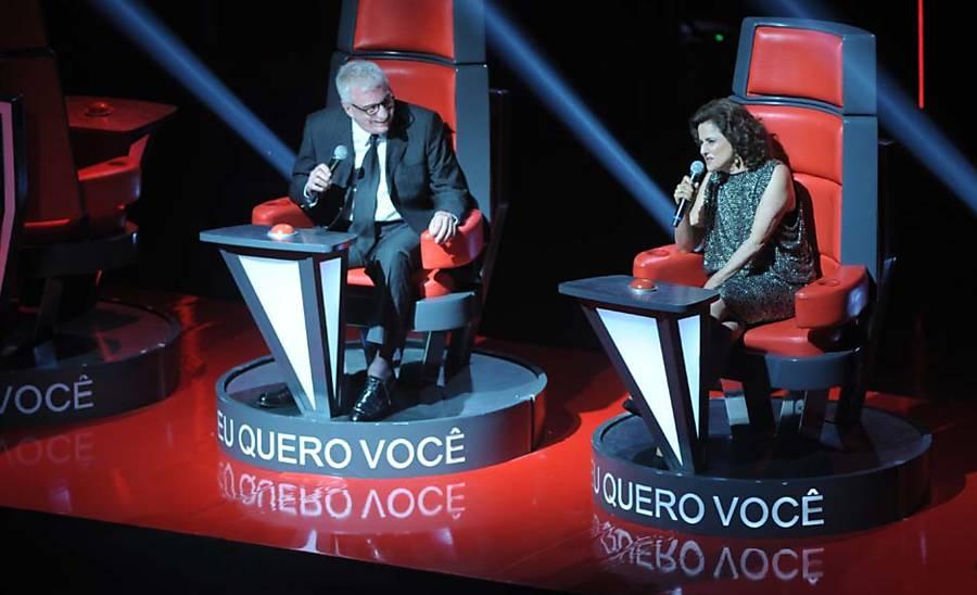 Festa de lançamento da Globo
