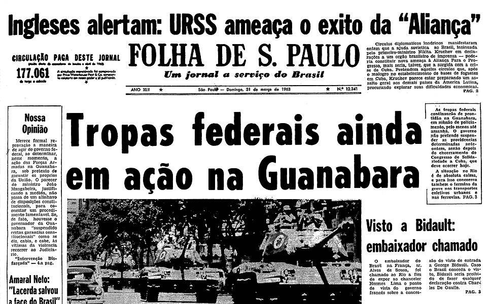 Há 50 anos - março