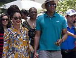 Beyoncé e Jay-Z passeiam pelo centro de Havana, em Cuba