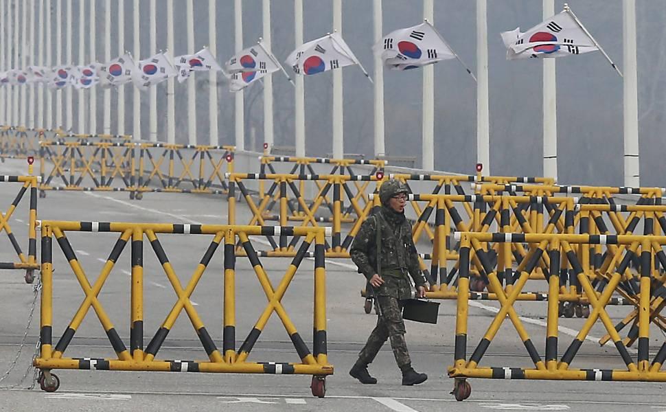 Tens�o na Coreia