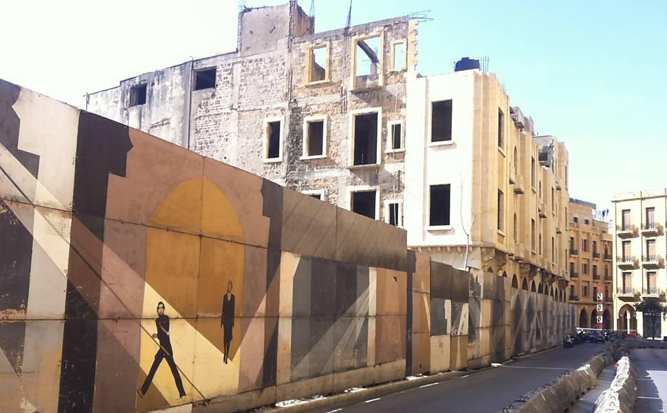 Prédios de Beirute