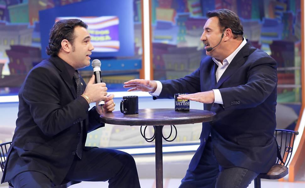 Ratinho entrevista o deputado e pastor Marco Feliciano no seu programa