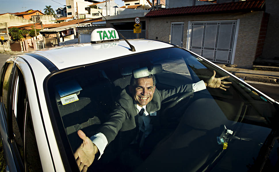 Blog do Macario: Já pensou em táxi com milhagem?