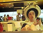 Luana posta foto tingindo o cabelo