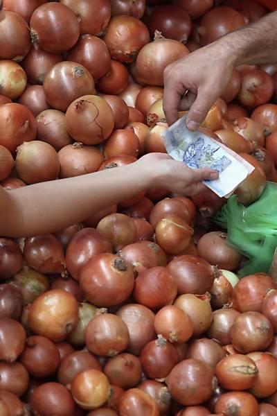 Setor alimentício cai com a inflação