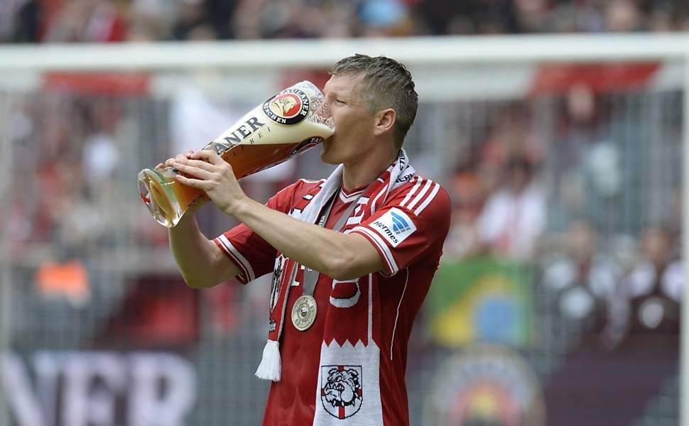 Festa do Bayern campeão