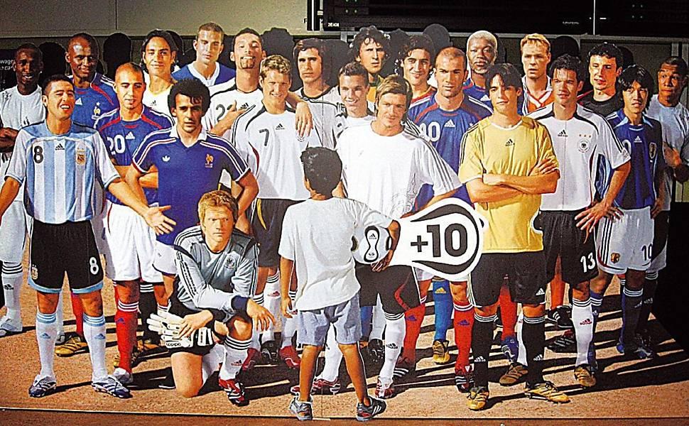 Beckham garoto-propaganda