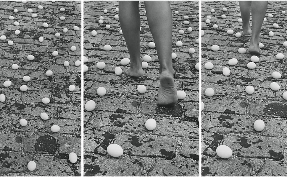 Obras da mostra 'Elles', no Pompidou