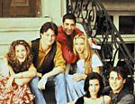 Jennifer Aniston, Courteney Cox, Lisa Kudrow, Matt LeBlanc, Matthew Perry e David Schwimmer em