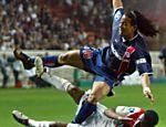 Ronaldinho Gaúcho em partida de 2003