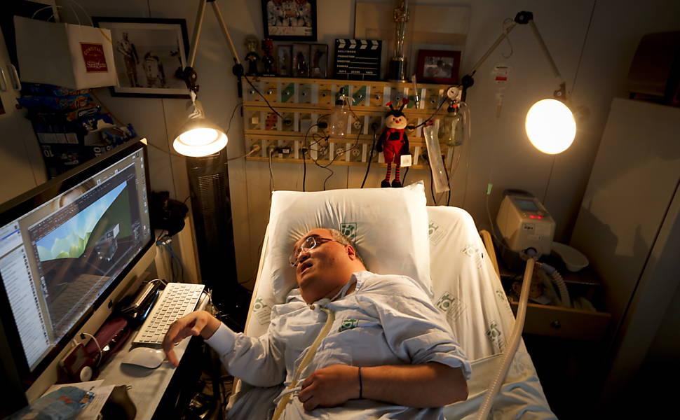 Paciente cria série de animação dentro do hospital