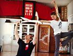 Gisele Bündchen treina Kung Fu