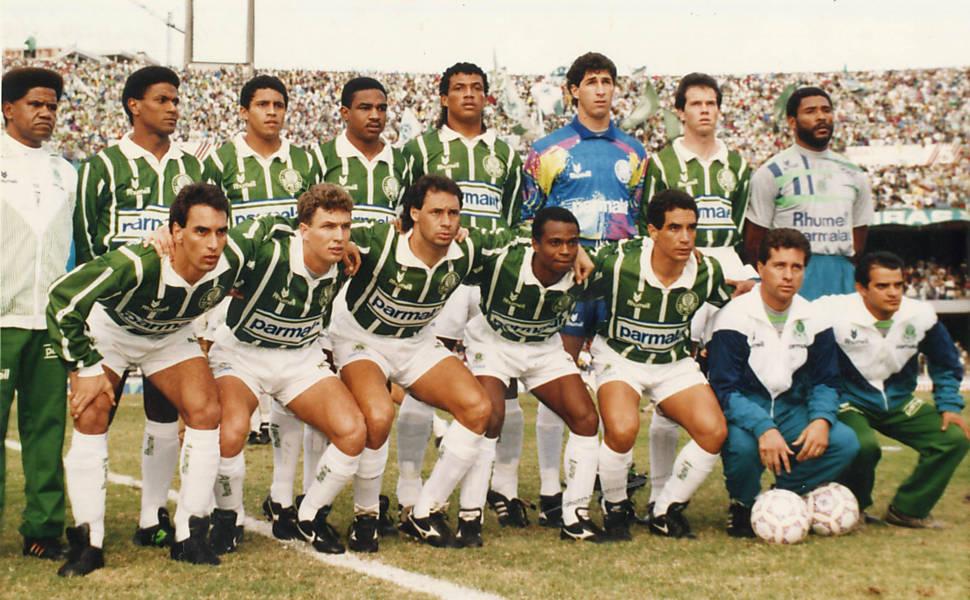 20 anos do título Paulista do Palmeiras