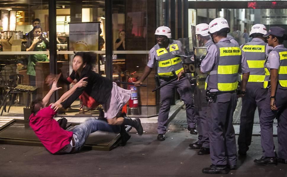 Melhores imagens do protesto em SP