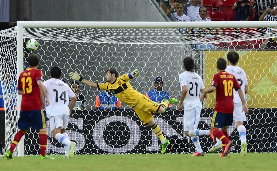 Copa das Confederações - Espanha x Uruguai