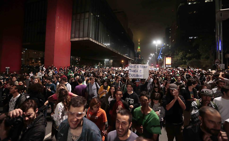 Protestos de junho de 2013 em São Paulo