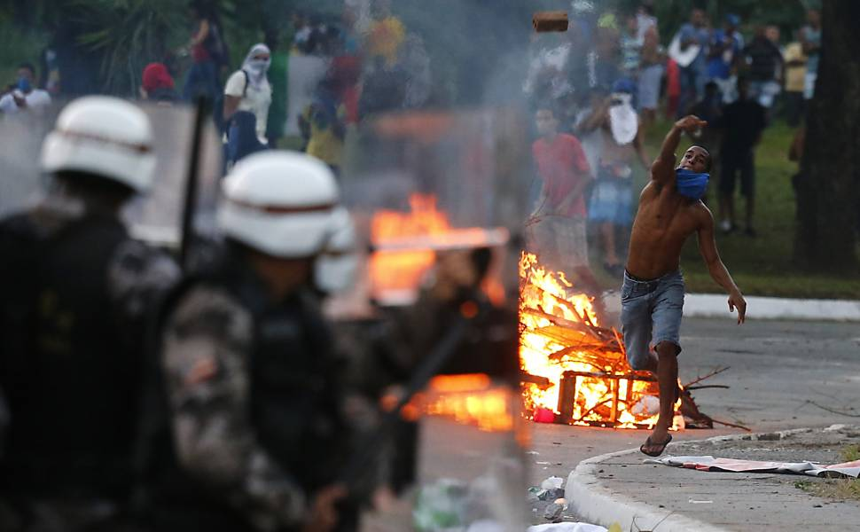Protestos durante a Copa das Confederações