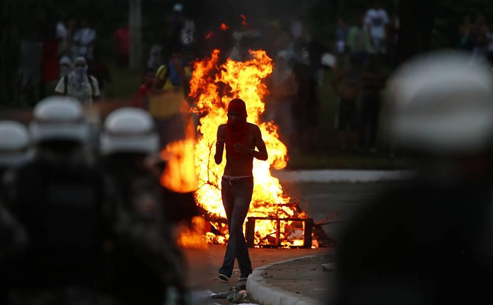 Protesto em Salvador