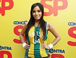 Anitta canta em jogo do Brasil contra o México no Vale do Anhangabaú