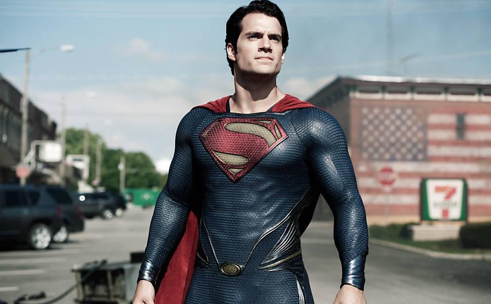 Henry Cavill como o Super-Homem