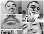Gugu posta foto de seu barbear