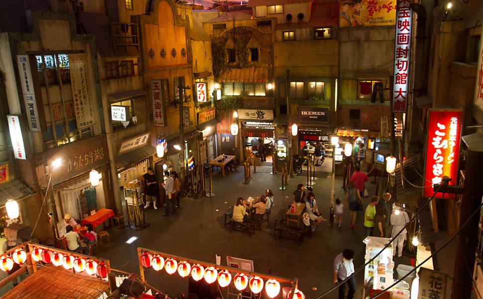 Museus de macarrão japoneses