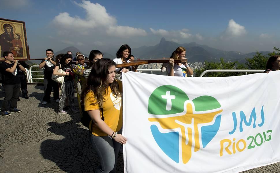 Rio de Janeiro se prepara para a visita do papa