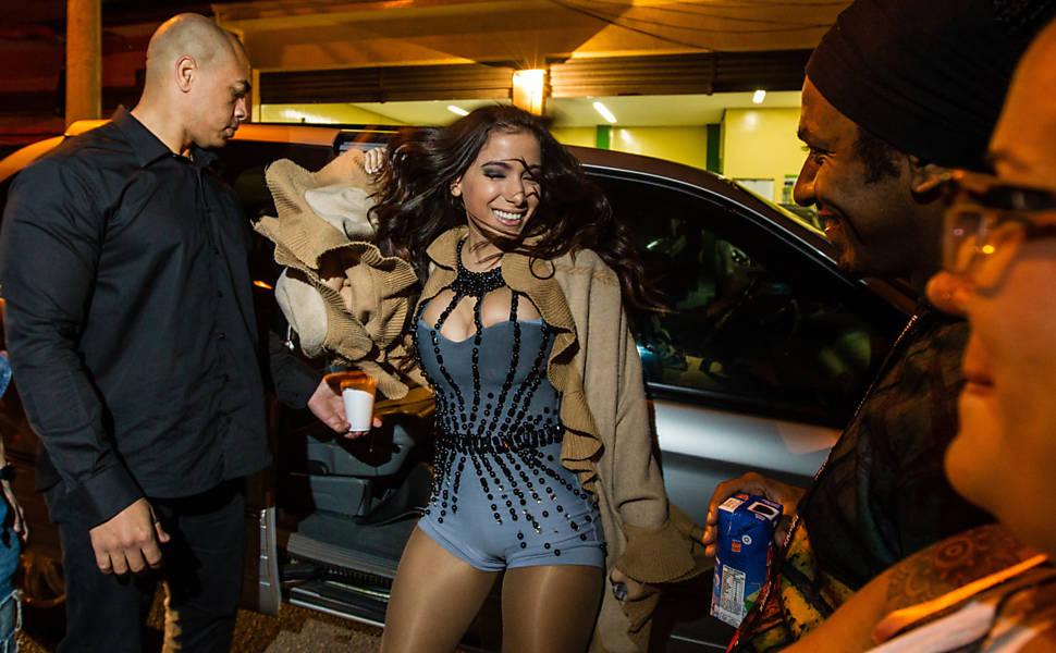 Presença de Anitta