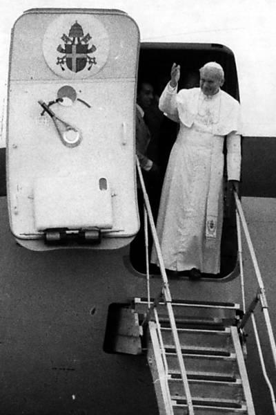 Visitas dos papas ao Brasil
