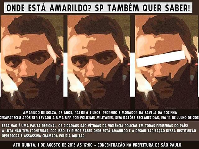Cadê o Amarildo?