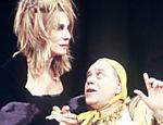 Renata Sorrah e Tonico Pereira encenaram a peça