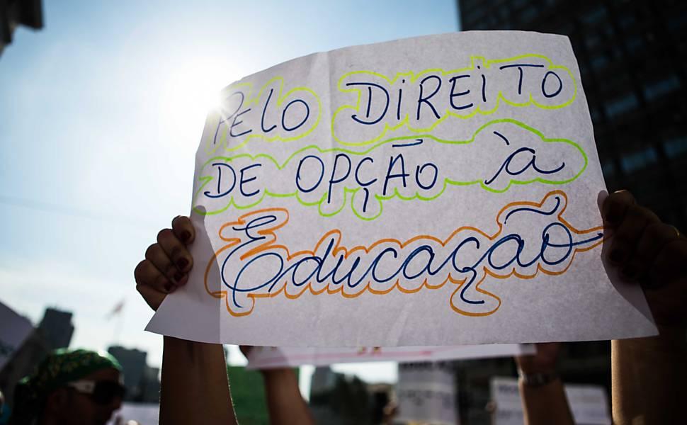 Protesto de pessoas com deficiência