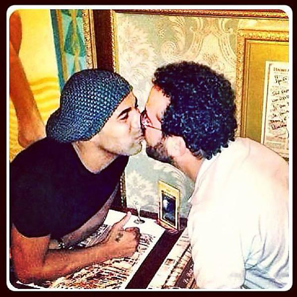 Beijos que deram o que falar