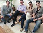 Luan Santana concede entrevista para Roberto Cabrini