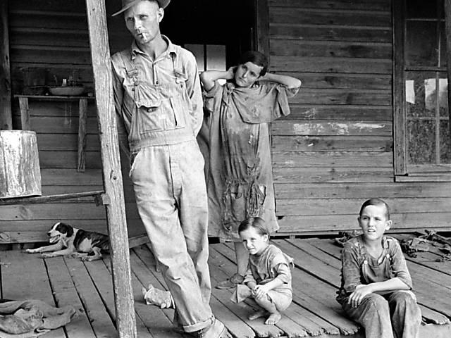 'Cotton Tenants, Three Families'