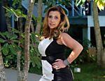 Rita Cadillac participa da gravação da novela da TV Record, 'Dona Xepa'