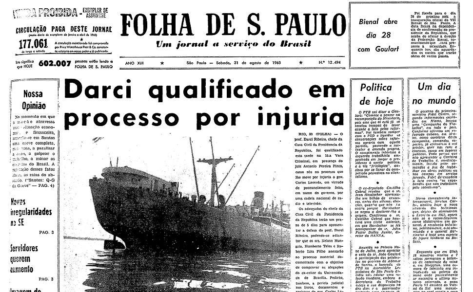 Há 50 anos - Agosto