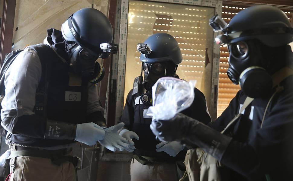 Ataque químico deixa mortos na Síria