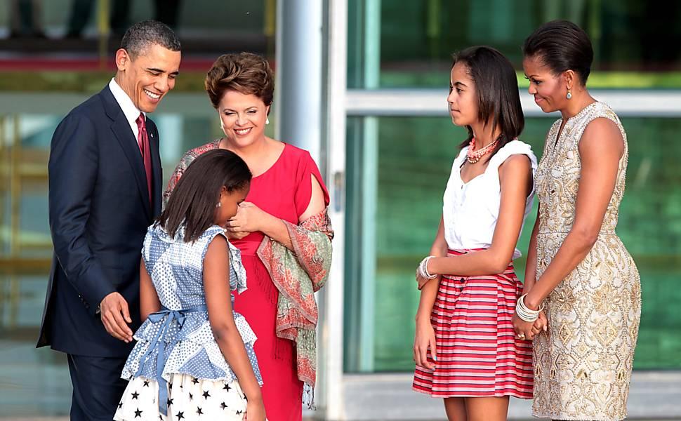 Obama e Dilma