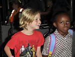 Shiloh, 7, e Zahara,8