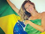 Gisele  comemora 7 de setembro e pede um Brasil mais justo e transparente