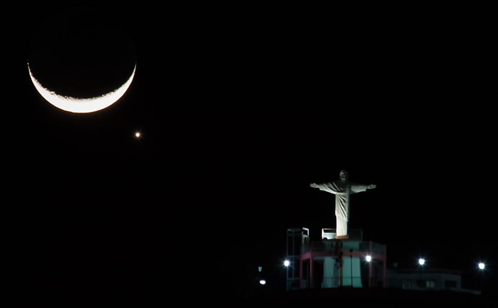 Encontro da Lua com Vênus