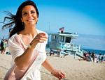 Ivete Sangalo durante passeio em Venice Beach, em Los Angeles
